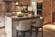 cusine / cuisine, aménagée, américaine, ouverte, kitchen,