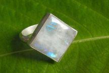 Moonstone Rings / Handmade moonstone rings in all sizes