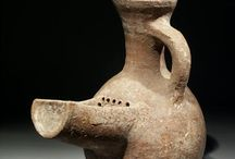 Holy Land Israelite Judea vases / Pilgrim flask - Holy land pottery vase - Israelite vase - Judea vase - Canaanite vase