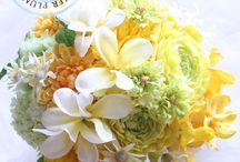 ウェディング 花