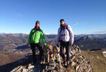 De ruta por el Fontañan / Hoy hemos dado una ruta buena con Ira, Volker y elrunnerfeo