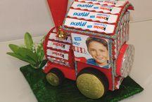 Kinder čokoládové dorty