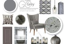 GO Grey! / Grey is hot in design & fashion, GO Grey!