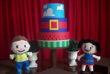 Festa Infantil / Artigos para festa infantil feitos artesanalmente.