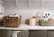 Laundry / Ideas for a small Laundry. we have a TINY laundry/toilet we are renervation right NOW,...
