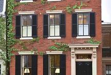 Front door and windows