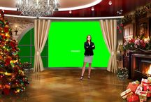 Virtual Set | Great for Holiday