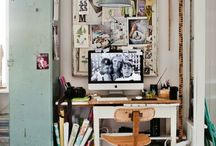 Vintage Office Ideas / Create a modern day vintage style office