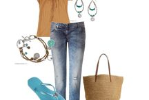 Outfits put together