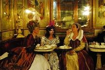 Carnival at Caffè Florian / Il Carnevale Veneziano al Caffè Florian - Venetian Carnival at Caffè Florian