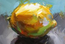 Frukt maleri
