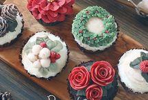 Cupcake butter cream / Beautiful # buttercream # cupcake#