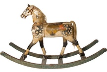 Old rocking horses / by jeanne munson