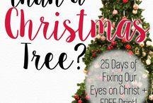 25 Days of Christmas + FREE prints