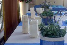 Allestimenti / Seguiamo le nostre clienti dagli inviti, alle bomboniere, agli allestimenti... chi altri fa lo stesso? Only Italian style