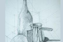 drawing / sketch / my drawings during in school