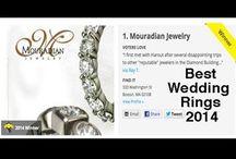 Mouradian Jewelry winner for Best wedding band of 2014 in Boston