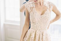 "EVENT | wedding gowns and bridesmaid dresses / We say ""yes"" to all of these dresses!"