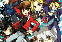 Yu-gi-oh with all protagonists