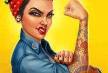 Girl power! / Pin-up