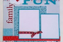 New scrap booking pages