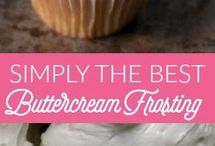 Frostings / Frosting recipes.