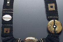 Macrame necklaces / collane