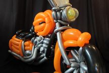 Moto de globos