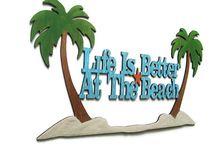 Home Decor: Beach House / Fun Nautical and Beach Decor