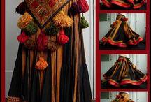 faldas tribales