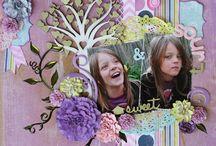 Scrappers Garden / Handmade Paper Flowers