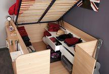 Boat bedroom