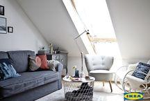 Малка дневна, много функции / Силке живее със своите три деца в малък апартамент в източен Берлин. Тясното пространство у дома дава възможността на всички в семейството да прекарват повече време заедно и да се забавляват. Вижте как Силке е превърнала малката дневна във истински функционално #мястозаживот.