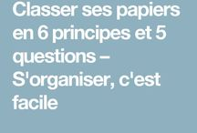 gestion papiers