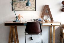 Studio | Workspace  / Love a practical space, and somewhere to create.  / by Tarnya Harper