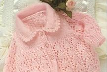 Girl's knitting
