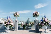 Moscow sky wedding