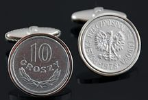 Poland Cufflinks / Polish coin cufflinks