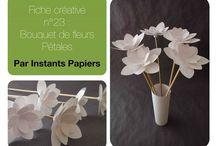 Tutoriel De Fleur En Papier