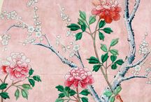 #CreativeChallenge Inspiration / Pin your dream room design and win £200 to make it a reality! Here is an example mood board based on our 18th Century China mural wallpaper.