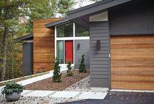 new build garage door