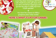 Lime Tree Kids Christmas Gift Picks / Christmas wish list for my kids