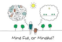 Mindfulness / Learning to live more serenely in the present and avoid stressing or obsessing over the past and/or future