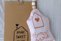 Home sweet home / Huis decoratie