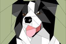 patchwork/ zwierzęta