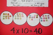 Math Ideas / by Rachelle Lopez
