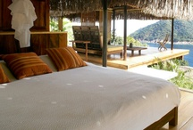 Bedrooms in really really exotic places / Faraway and exotic travel destinations offering fantastic bedrooms
