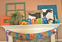 Miles 2nd birthday Dinosaur party