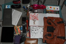 What I need in my purse/backpack / What's in your bag? / by Alejandra Medina