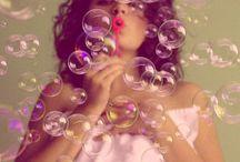 Photoshooting seifenblasen